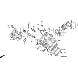 N°15 Goujon moteur Yamda...