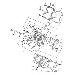 N°1 Culasse Yamaha 125...